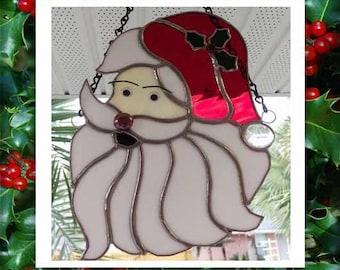 Santa Claus Suncatcher
