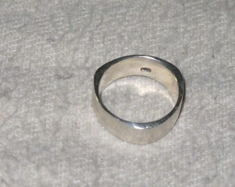 Sterling Silver Cam Ring