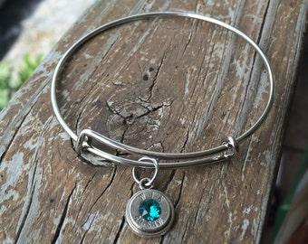 Expandable bullet bracelet