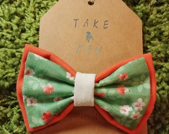 The Camilly Floral Pet Bow Tie for Cats & Dogs or