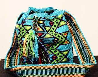 Wayuu Mochila - Large, Single Thread