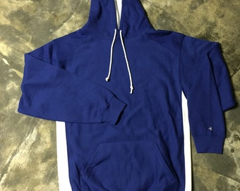 Badger Sport Hoodie - Royal/White