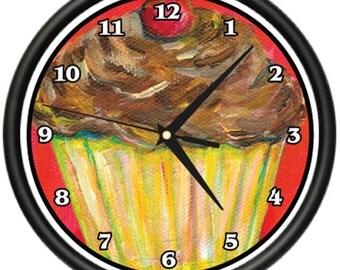 Cupcakes Wall Clock Cupcake Baker Cup Cake Maker Gift