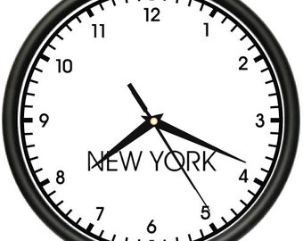 time zone clock etsy