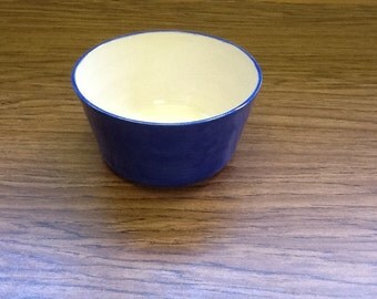 Solid Blue Bowl
