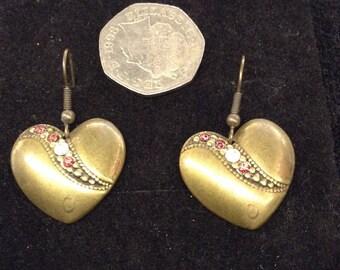Pair of handmade earrings