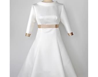A line wedding dress wedding gown