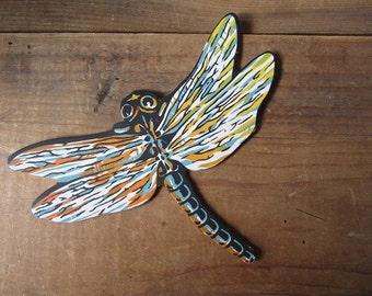 Dragonfly Vintage Die Cut 1950 Store Display