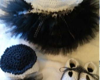 Crochet baby Tap Dance Outfit