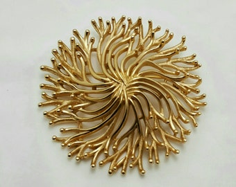 TRIFARI Brushed Gold Pin