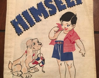 1950 Cloth Childrens Book **FREE SHIPPING**