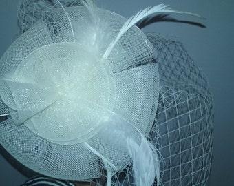 BRIDAL VINTAGE FASCINATOR
