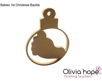 Babies First Christmas Bauble
