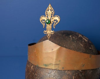 Antique French procession crown.