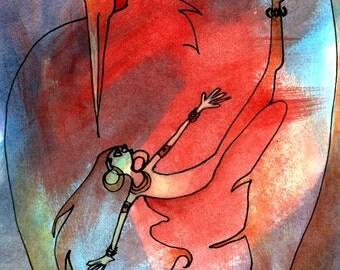Bird Dancer (original painting)