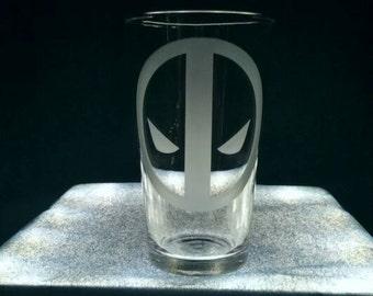 DEADPOOL Drinking Glass