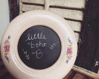 vintage photo frame chalkboard