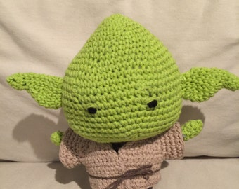 Personalized Yoda Doll