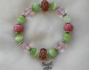 AVM Survivor Bracelet - Pink Swirls