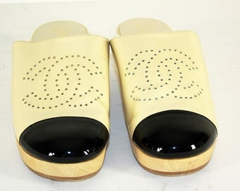 Chanel clogs / mules eu 41