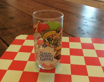 The Great Muppet Caper McDonalds 1981 Glass (A823)