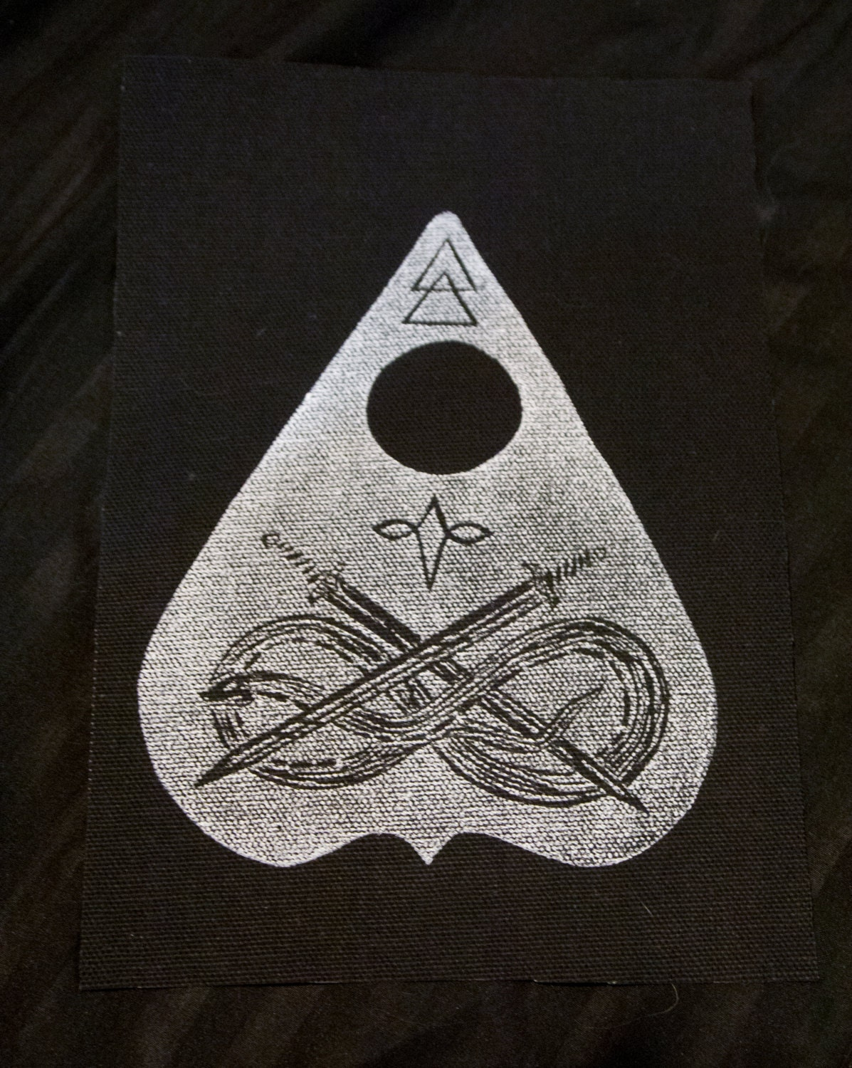 Silver Planchette - PATCH *RETIRING SOON*