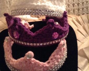 PRINCESS crowns crochet princess crowns