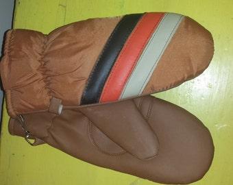 Vintage Ladies Mittens // Gloves // 70s // 80s