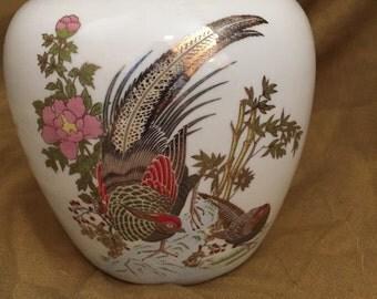 Pheasant Ginger Jar