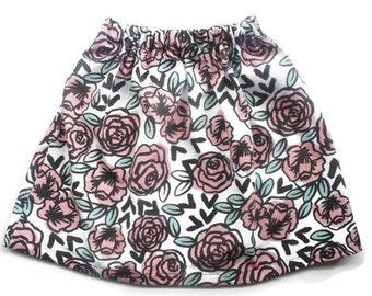 MW Roses Skirt