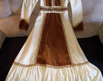 Peasant Dress by Gunne Sax Jessica San Francisco 1960's