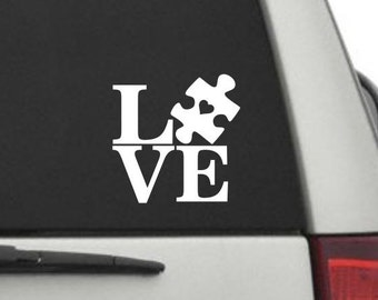 Car Decal - Autism LOVE