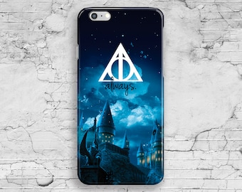 Harry Potter iPhone Case, Quote iPhone 6 Case, Deathly Hallows iPhone 7 Case, iPhone 6S Plus, iPhone 7 Plus, iPhone 5, 4 4S 5S 5C iPhone SE