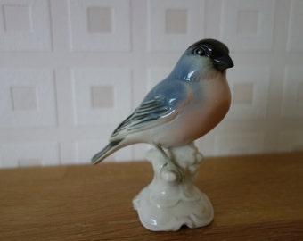 Bullfinch German porcelain figurine