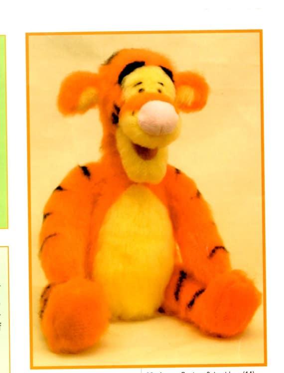 Disney Winnie the Pooh Tigger toy knitting pattern