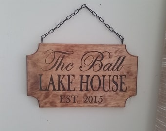 ANY DESIGN - Custom Wood Burned Sign / Pyrography