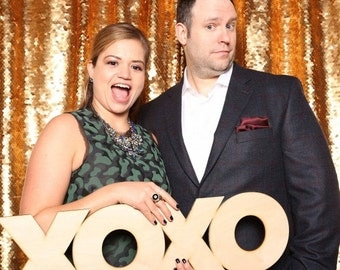 XOXO Photo Booth Prop & Wall Decor