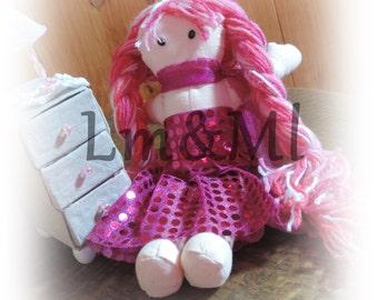 Mademoiselle rag doll Strawberry