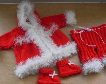 Knitted Christmas Set Jacket