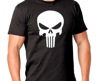 Punisher Shirt, The Punisher Shirt, Custom Punisher Shirt, Halloween Shirt