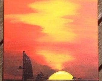 Key West, Florida Sunset Paint