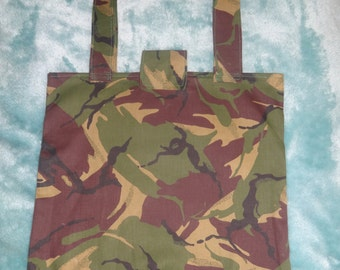 Army print bag