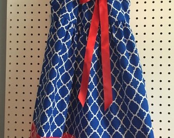Red,white, and blue 2 sundress in 4T