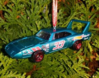 Custom Plymouth Super Bee Christmas Ornament Mopar Happy Holidays Free Shipping