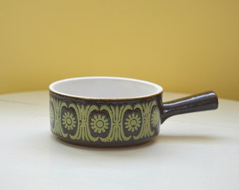 Vintage Soup Crock, Soup Bowl with Handle