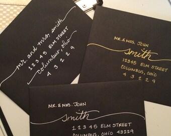 Handwritten Envelopes