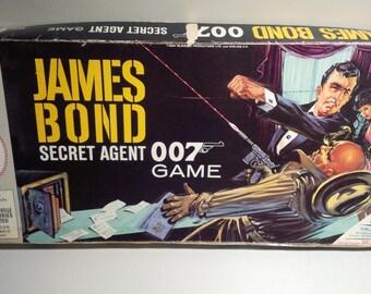 1964 James Bond Secret Agent 007 Board Game