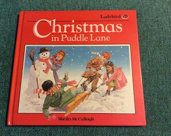 Ladybird Christmas in puddle lane book 1987