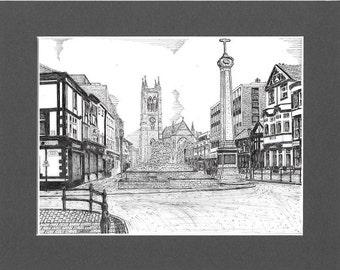 Churchgate, Bolton, Lancashire.