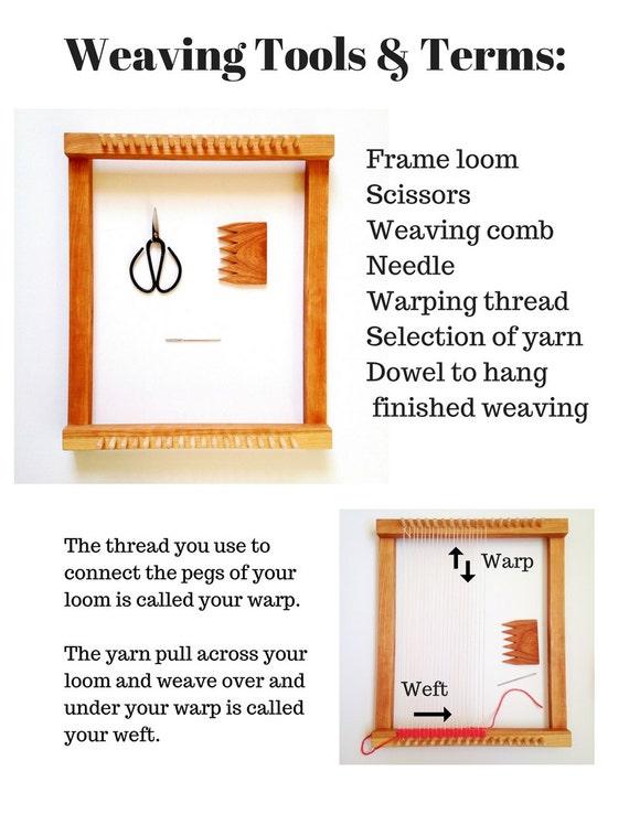Beginner S Guide To Weaving Booklet Sarah Harste